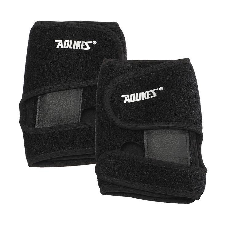 AOLIKES Amuleto de acero desmontable regulable muñeca torcedura apoyo deportivo protector ortopédico artritis