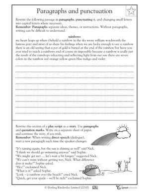 Fourth Grade Writing Activities