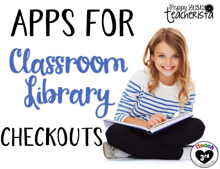 Hey, Friends!   It's Amber from PeppyZestyTeacherista ! I have a TON of classroom library books and it can be a pain to keep track of all...