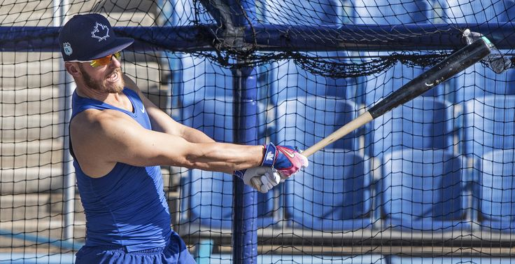 https://flic.kr/p/SR5uPJ | Josh Donaldson takes BP in Dunedin before going to Tampa for a minor-league game.