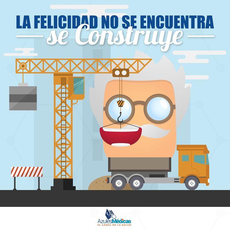 La felicidad es una decisión que aporta grandes beneficios a la salud.  Pero si además es #Viernes, es más fácil ser feliz! Síguenos!  #FelizViernes #VidaSana #WeekEnd #Salud #Alimentacion #Medicina #Medicos #Prevencion #Colombia   http://blog.azulesmedicas.com/