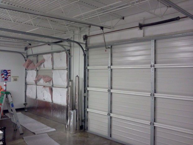 25 best ideas about radiant barrier insulation on for Energy efficient garage doors