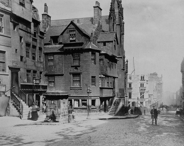 Knox's house. Edinburgh, Scotland, United Kingdom ca. 1874