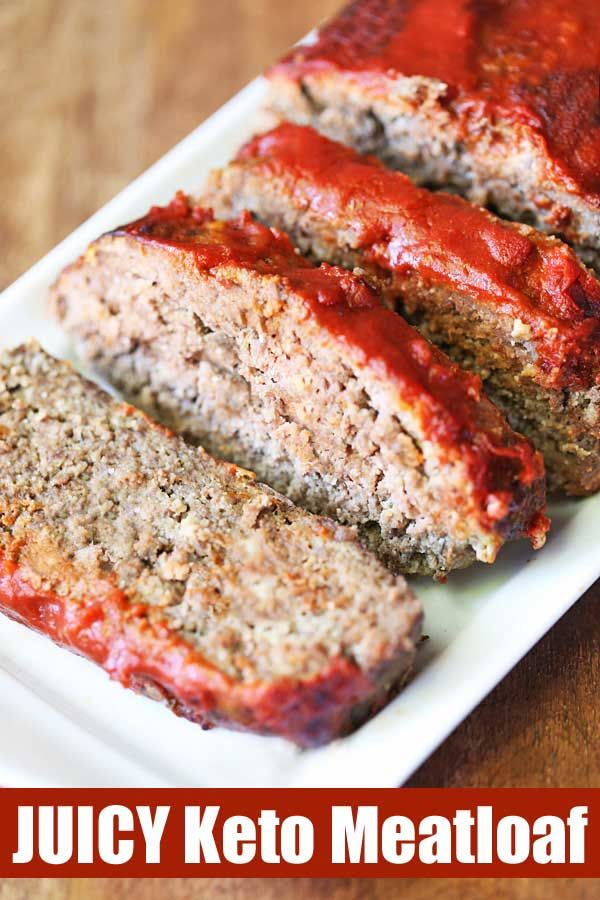 Juicy Keto Meatloaf