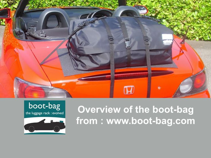Overview Of The Boot Bag Car Trunk Luggage Rack System Only From Ba