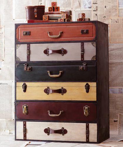 Suitcase Dresser Ikea Rast Hack