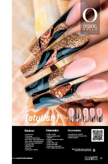 26 Stylish  Javier Rubalcava / Promaster Organic® Nails Diseño publicado en la revista Lo Mejor No. 26 de Organic® Nails.   http://youtu.be/QHu3Xpn5J8A?list=PLVzihPafxEEwjNT0GraEhIaapZy8j2fXW