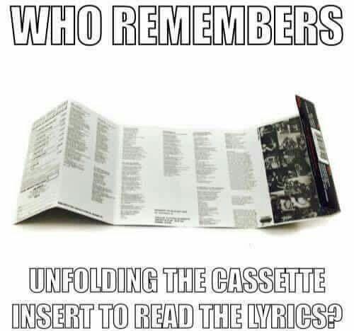 Cassette Insert