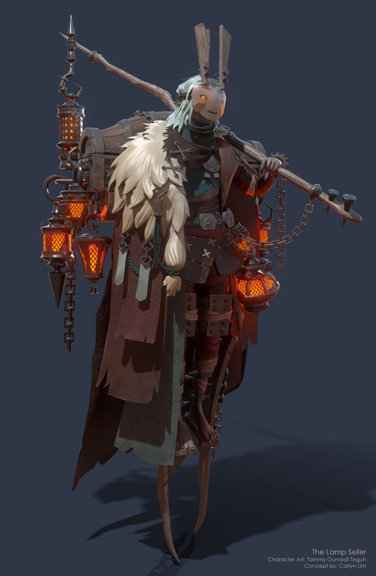 ArtStation - The Lamp Seller, Tommy Gunardi Teguh