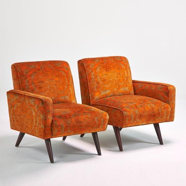 Paul McCobb; Sofa Chairs, 1960s..........................................................................YYYYYYEEEEESSSSSSSS