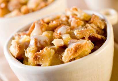 Pouding au pain pommes - cannelle