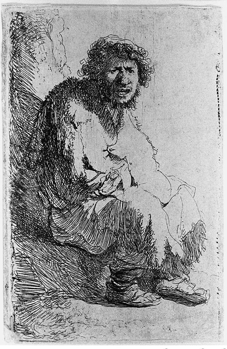 Three Scribes, Rembrandt van Rijn, c. 1628 - c. 1629