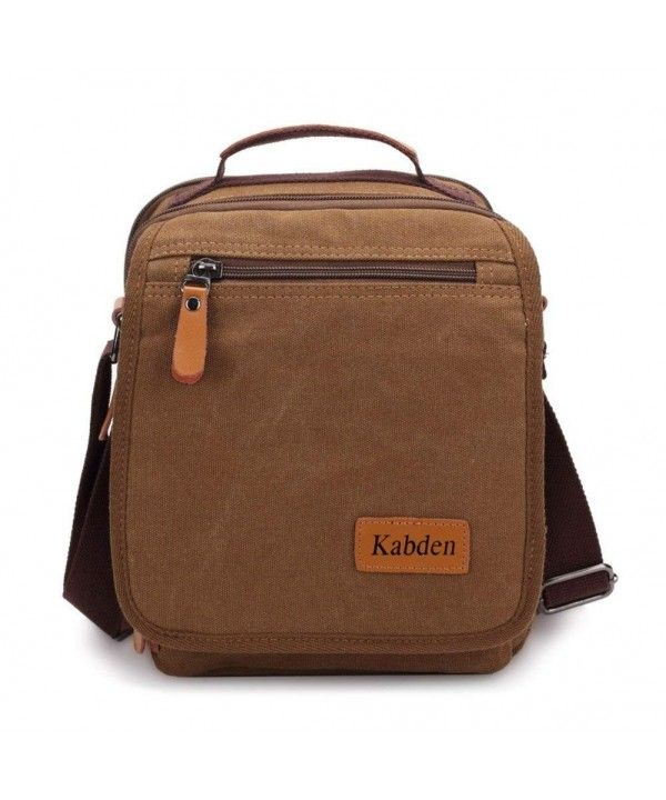 Luggage   Travel Gear, Briefcases, Small Canvas Messenger Bag For Men Women  Ipad Outdoor Leisure - brown - CM183L67DXR  Bags  Fashion  Handbags   shopping ... 56023bbf69