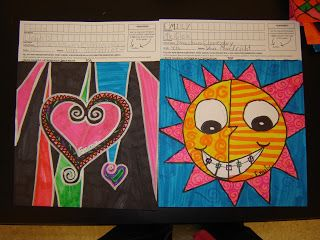 Jamestown Elementary Art Blog: 4th grade Square 1 Art!