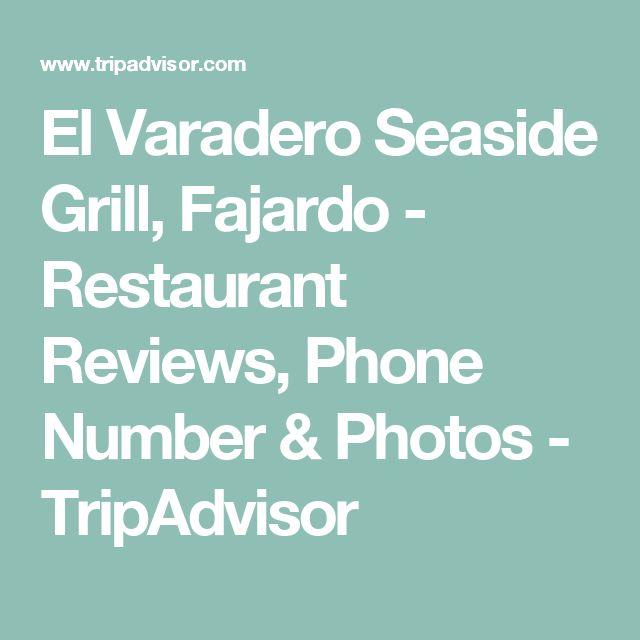El Varadero Seaside Grill, Fajardo - Restaurant Reviews, Phone Number & Photos - TripAdvisor