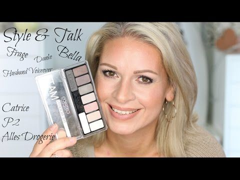 Style & Talk März 2017 / Bella, Q&A ?, Danke / Catrice, P2, Drogerie /Mamacobeauty - YouTube