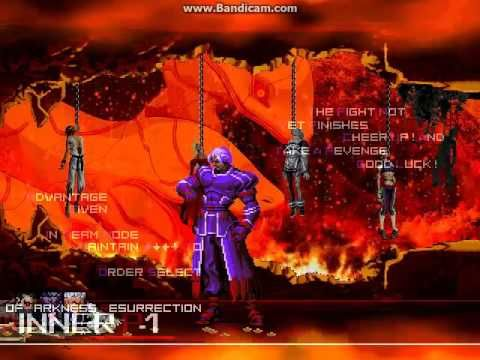 KOF WOJ Darkness ~ Family Boss vs Family Element