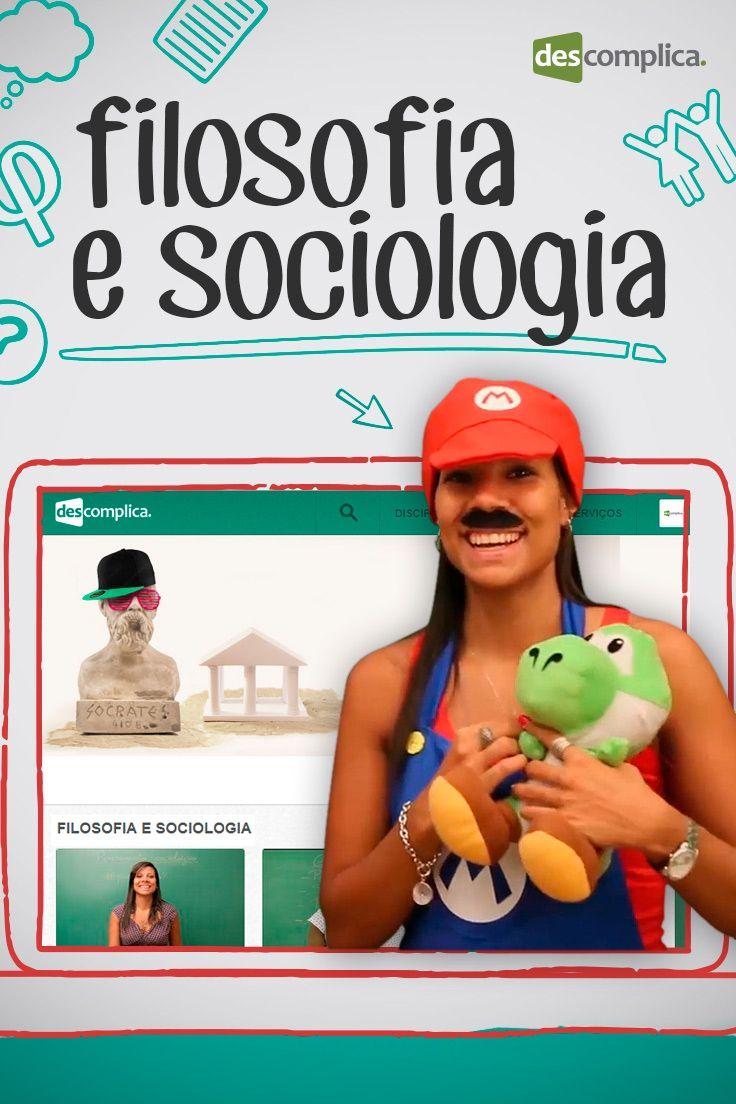 Agora vai: aulas de Filosofia e Sociologia com a professora Lara, filhão!