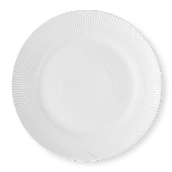 Royal Copenhagen White Elements Plate 29 cm