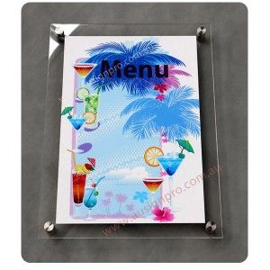 Premium Magnetic Acrylic or Perspex Photo Frames
