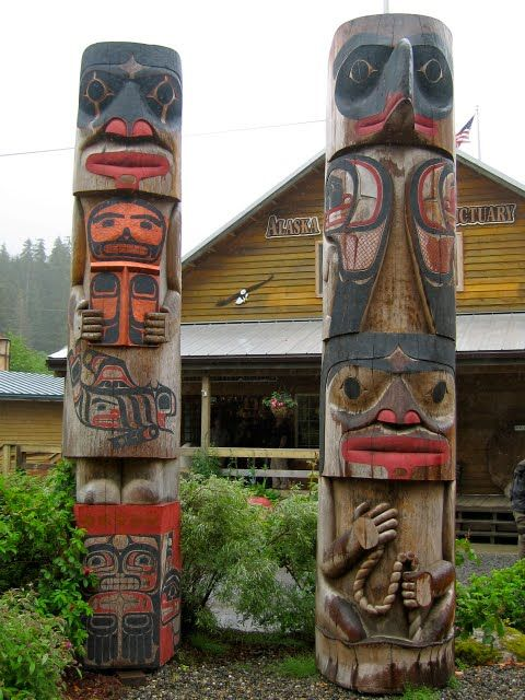 Ketchikan, Alaska, is the totem pole capital of the world!