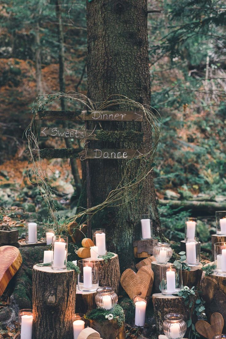 Hidden Forest Wedding: Eine Boho-inspirierte Inspiration