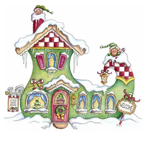 CHRISTMAS ELF BOOT CLIP ART