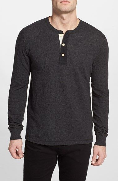 Lucky Brand 'Duofold' Long Sleeve Henley available at #Nordstrom