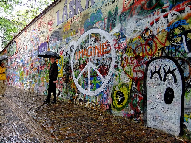 John Lenon Wall, Prague