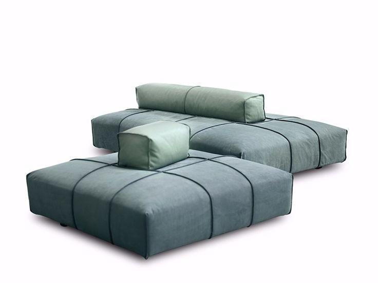 Téléchargez le catalogue et demandez les prix de Panama bold by Baxter, canapé composable modulable en tissu design Paola Navone