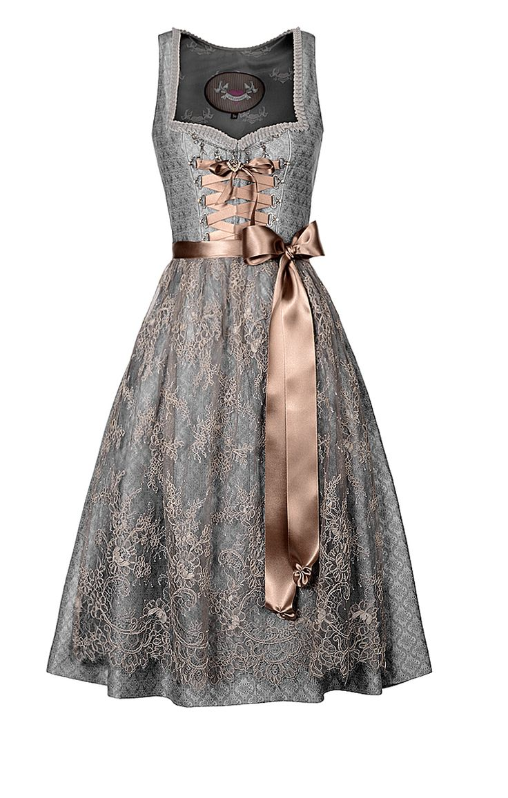 #Farbbberatung #Stilberatung #Farbenreich mit www.farben-reich.com This is definitely a 3rd - 5th year dress. OH! I love how the gray would match her eyes and how nicely that pink sash sets it off. OUt little Lily is growing up.
