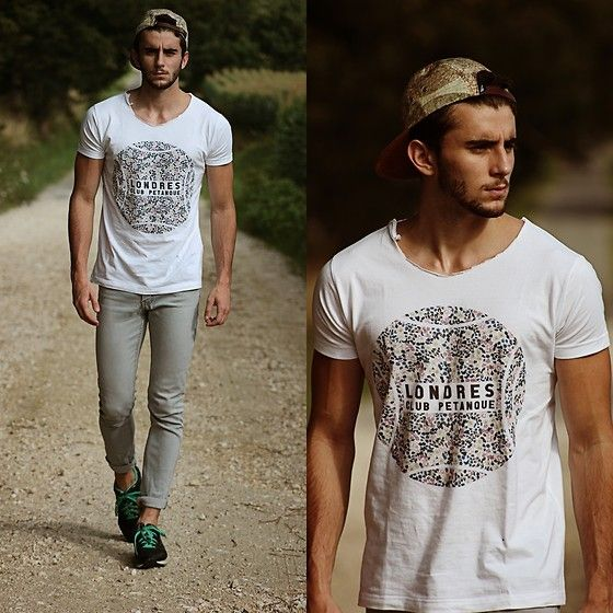 Club Petanque Tee, Asics Sneakers #fashion #mensfashion #menswear #mensstyle #style #outfit #ootd