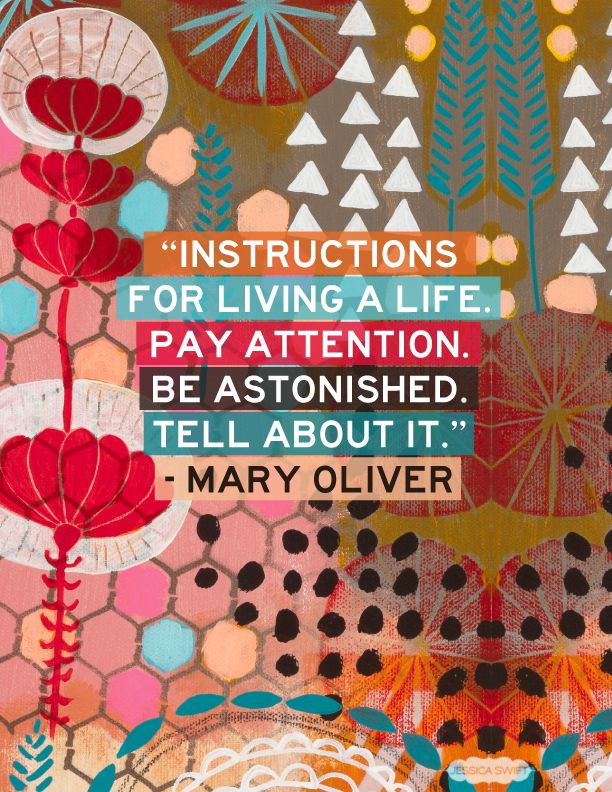 Mary Oliver quote #quote #maryoliverquote