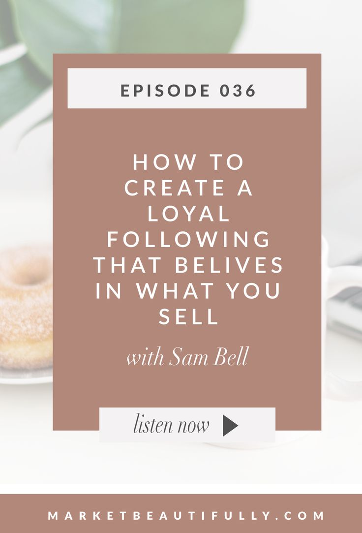 Today Sam Bell and I are about to spill some secrets from this book we have been reading that has not only made us drool because of all the marketing wisdom but changed our mindset toward our business and how we approached everything. Save the pin below   follow me on Pinterest by clicking here! ... Read More about  Episode 36 How to Create a Loyal Following that Believes in What You Sell with Sam Bell