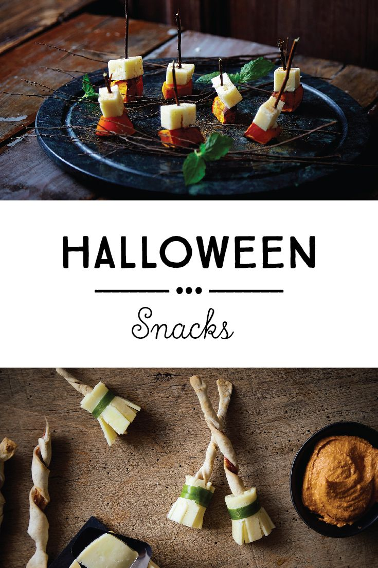 Hair-raising snacks are a must for any Halloween celebration. Be inspired by our collection of devilishly good nibbles; your guests will approOoOoOove!