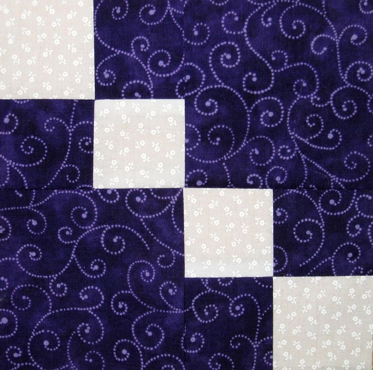 Four Patch Quilt Block Variation