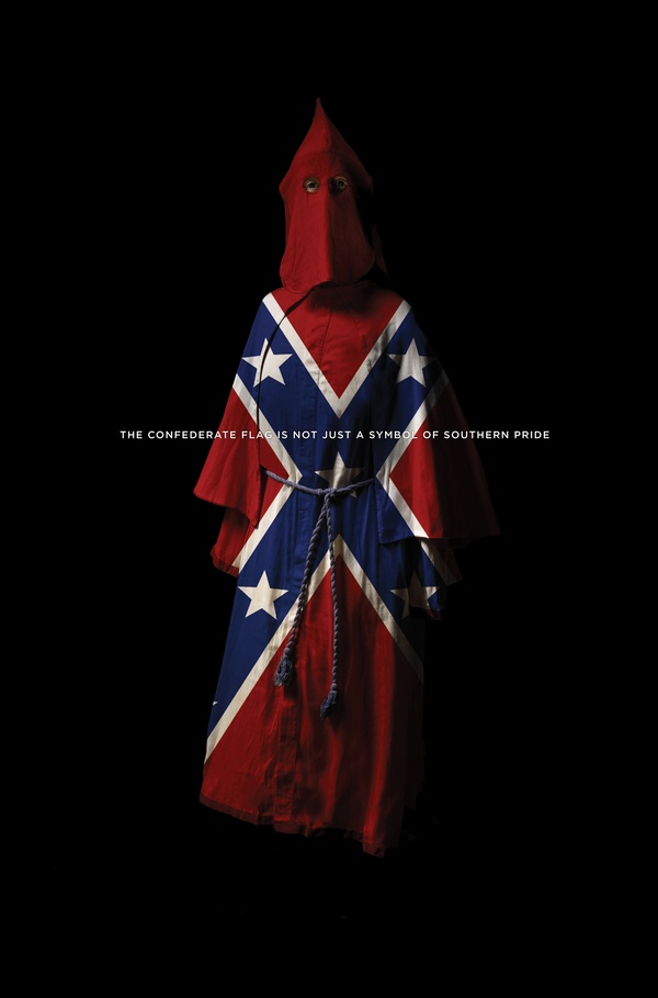 The Confederate flag is not just a symbol of Southern Pride. #racism