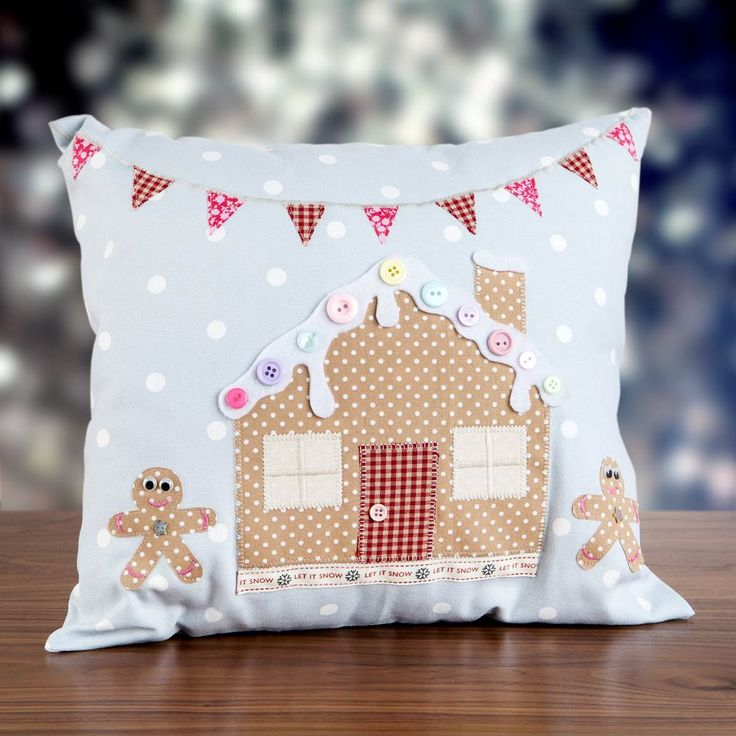 crafts ideas for christmas gingerbread cushion shop the owl and the sewing cat 4137