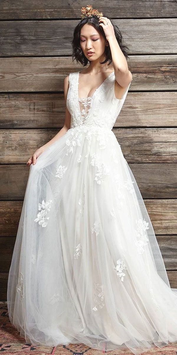 24 Best Of Greek Wedding Dresses For Glamorous Bride