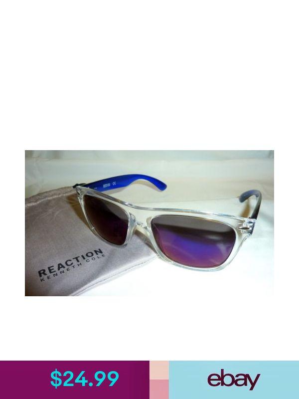 Kenneth Cole Reaction KC1240 Women/'s Square Sunglasses 5526C CLEAR TRANSLUCENT