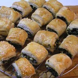 Mini spinach and feta rolls @ allrecipes.co.uk