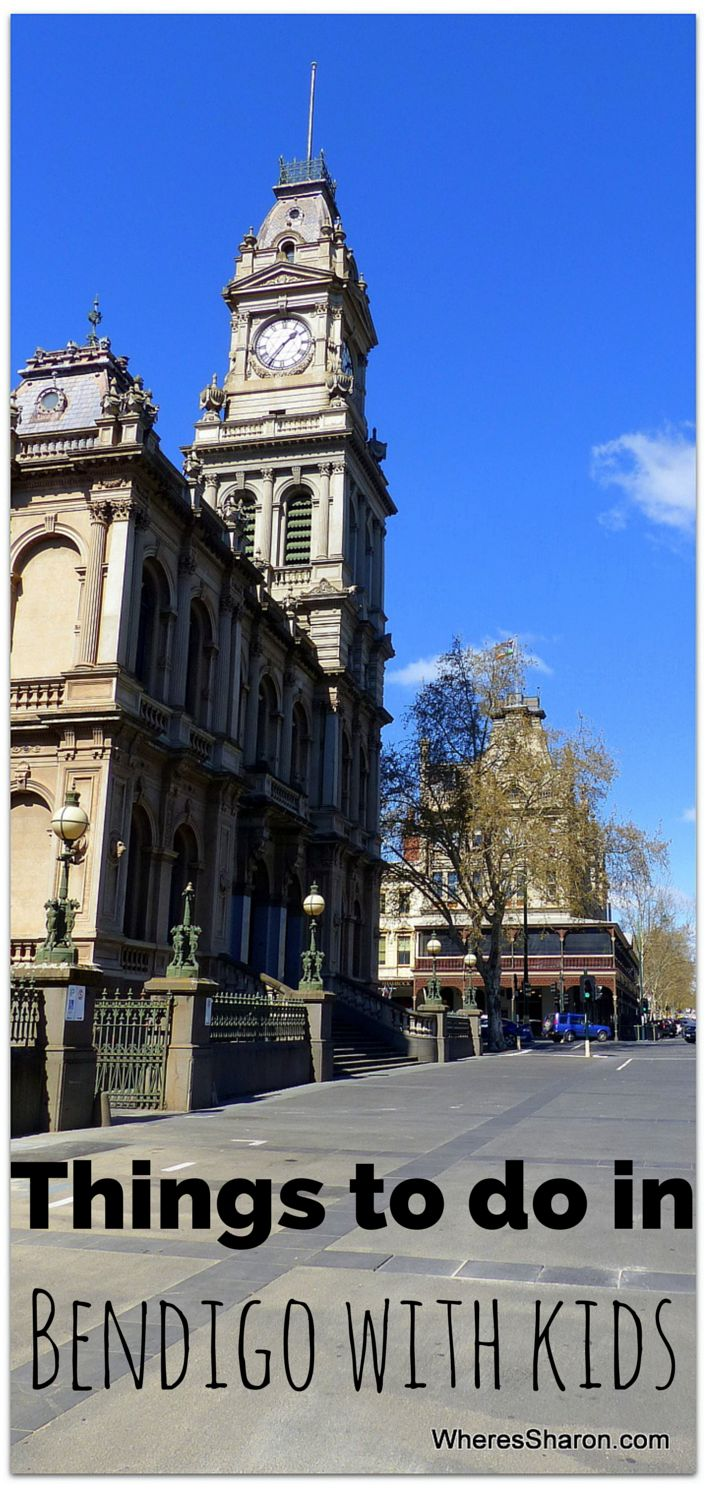 Things to do in #Bendigo with kids! http://www.wheressharon.com/australian-travels/fun-things-to-do-in-bendigo-with-kids/ #familytravel #Australia