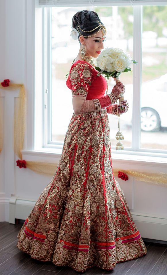 Punjabi Bride | Photo by Brellow