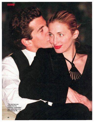 John Kennedy jr & wife Carolyn Besset died in 1999.