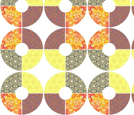 All About that Round fabric by Susan K.Weckesser Inc. on Spoonflower - #fabric