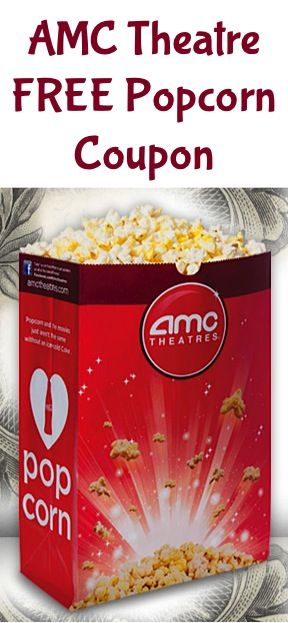 photo relating to Amc Printable Coupons identified as Amc theatre totally free popcorn discount codes - Spending budget going truck coupon