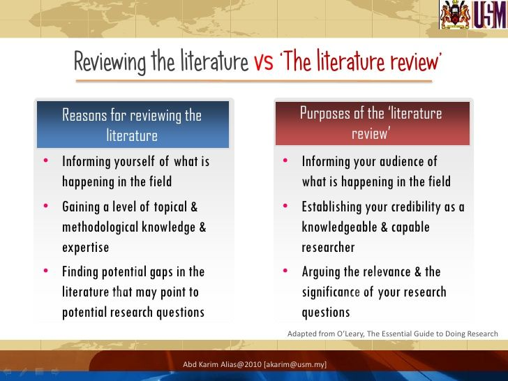 58 Best Literature Review Images On Pinterest | Academic Writing