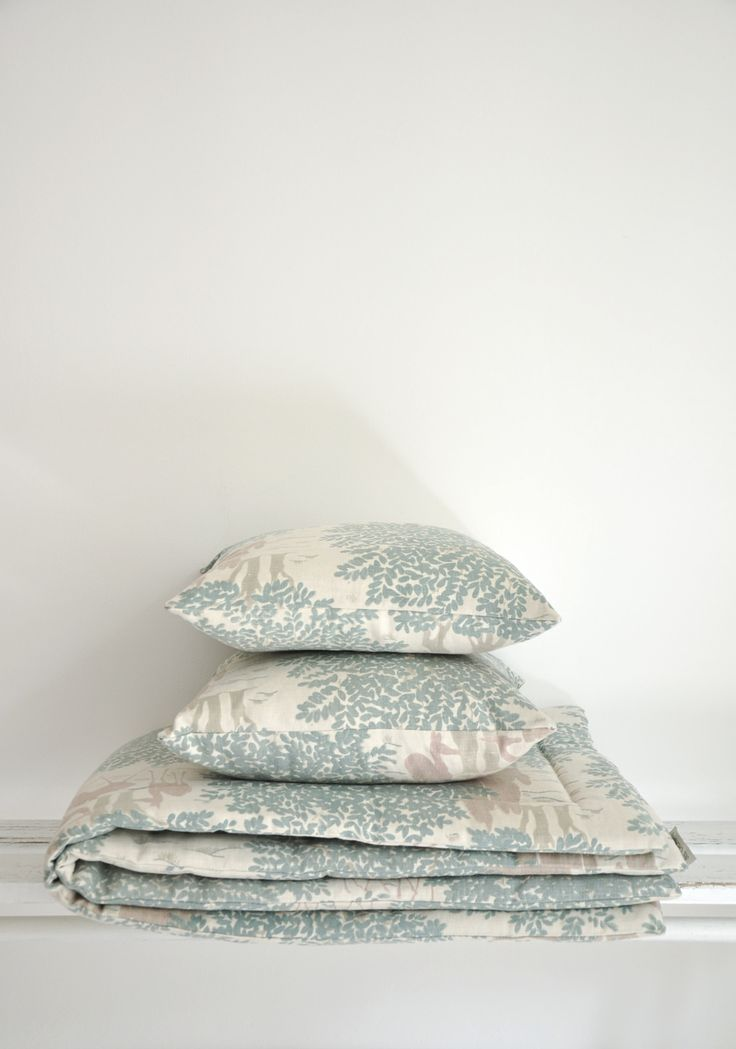 Coussin tissu vintage - Mobilier vintage - Bel Ordinaire