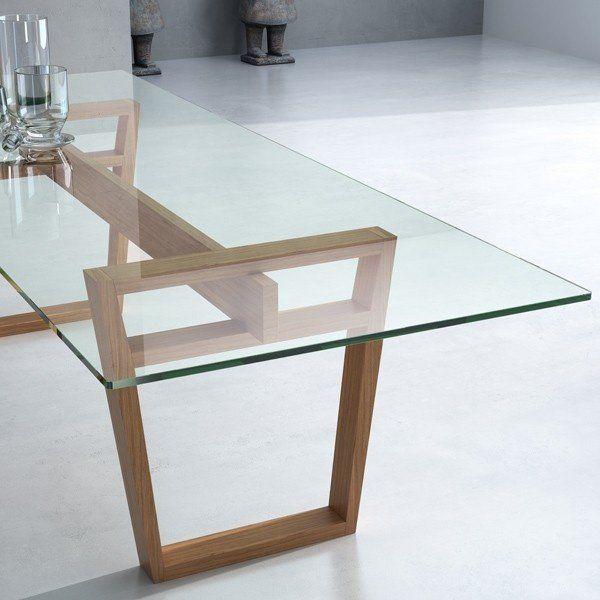 Mesa diapason cattelan italia mobiliario mesas de for Mesas de vidrio modernas para comedor