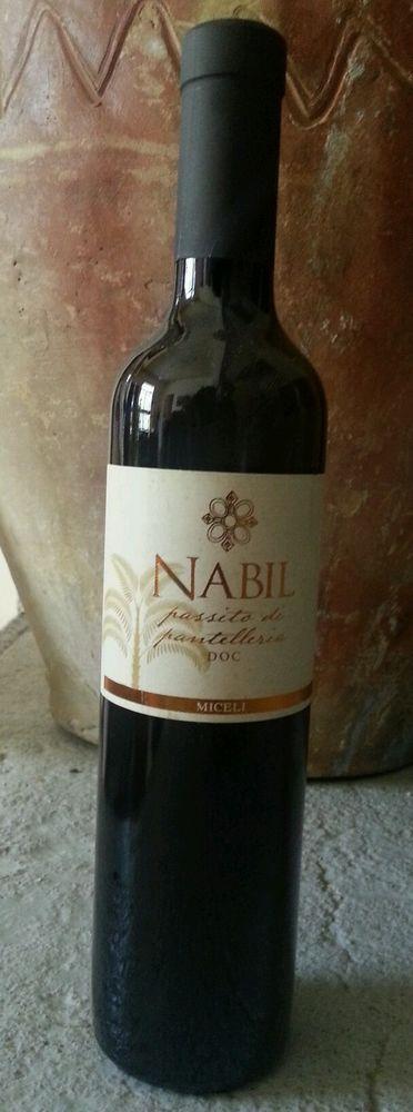 NABIL Passito di Pantelleria Miceli 2009 cl 50 DOC